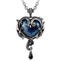Affaire du Coeur Skull Heart Pendant