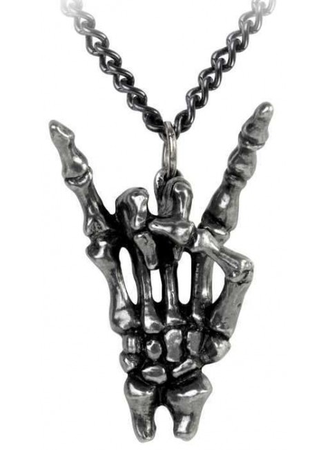 Maschio Sign of the Horns Maloik Male Necklace at Gothic Plus, Gothic Clothing, Jewelry, Goth Shoes & Boots & Home Decor