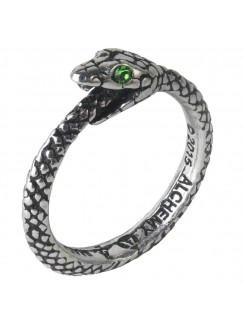Sophia Serpent Pewter Ring Gothic Plus Gothic Clothing, Jewelry, Goth Shoes & Boots & Home Decor
