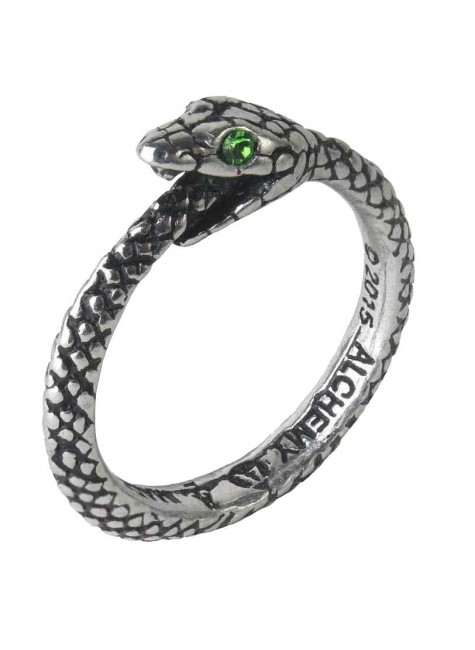 Sophia Serpent Pewter Ring at Gothic Plus, Gothic Clothing, Jewelry, Goth Shoes & Boots & Home Decor