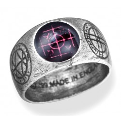AGLA Kaballah Pewter Ring Gothic Plus Gothic Clothing, Jewelry, Goth Shoes & Boots & Home Decor