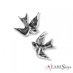 Swallow Stud Pewter Bird Earrings Gothic Plus  Gothic Clothing, Jewelry, Goth Shoes, Boots & Home Decor