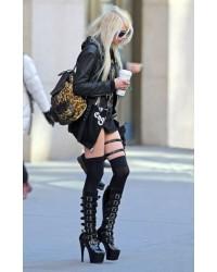 Taylor Momsen wears Adore-2043 Platform Boots