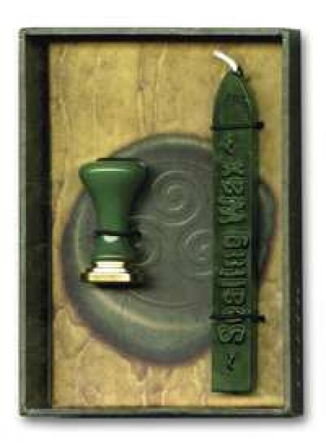 Celtic Sealing Wax with Seal at Gothic Plus, Gothic Clothing, Jewelry, Goth Shoes & Boots & Home Decor