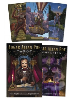 Edgar Allan Poe Tarot Cards Gothic Plus Gothic Clothing, Jewelry, Goth Shoes & Boots & Home Decor