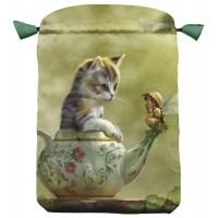 Fantasy Cat Satin Bag