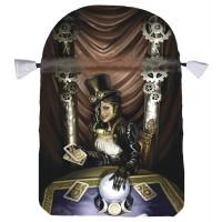 Steampunk High Priestess Satin Tarot Bag