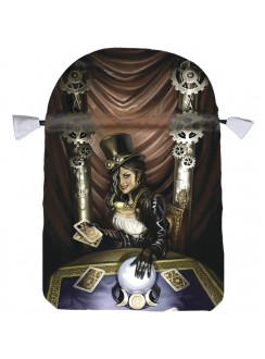 Steampunk High Priestess Satin Tarot Bag Gothic Plus Gothic Clothing, Jewelry, Goth Shoes & Boots & Home Decor