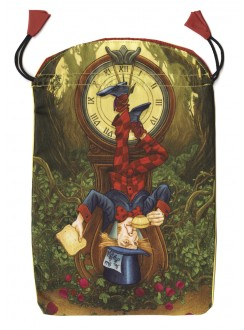 Wonderland Tarot Satin Bag Gothic Plus Gothic Clothing, Jewelry, Goth Shoes & Boots & Home Decor