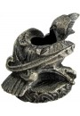 Raven Mini Pewter Candle Holder at Gothic Plus, Gothic Clothing, Jewelry, Goth Shoes & Boots & Home Decor