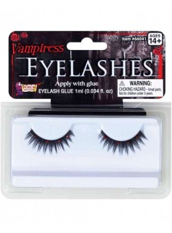 Vampiress Eyelashes Gothic Plus Gothic Clothing, Jewelry, Goth Shoes & Boots & Home Decor
