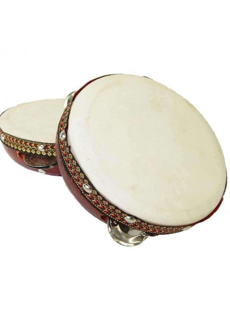 Tambourine Drum 6 Inches at Gothic Plus, Gothic Clothing, Jewelry, Goth Shoes & Boots & Home Decor