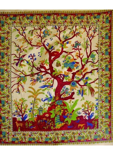Tree of Life Double Tapestry at Gothic Plus, Gothic Clothing, Jewelry, Goth Shoes & Boots & Home Decor