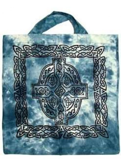 Celtic Cross Cotton Tote Bag at Gothic Plus, Gothic Clothing, Jewelry, Goth Shoes & Boots & Home Decor