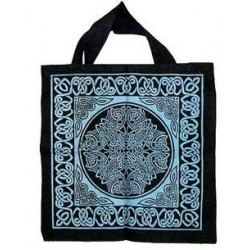 Celtic Knotwork Cotton Tote Bag Gothic Plus Gothic Clothing, Jewelry, Goth Shoes & Boots & Home Decor