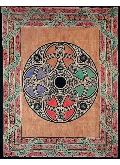 Celtic Print Handloomed Woven Tapestry at Gothic Plus, Gothic Clothing, Jewelry, Goth Shoes & Boots & Home Decor