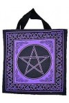 Pentagram Cotton Tote Bag