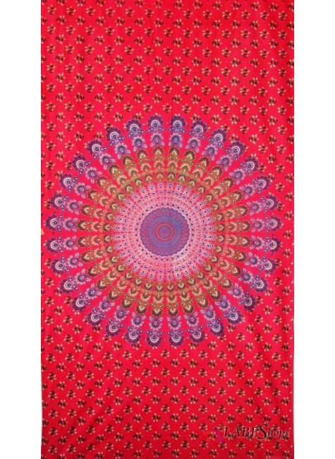 Sanganeer Print Cotton Tapestry at Gothic Plus, Gothic Clothing, Jewelry, Goth Shoes & Boots & Home Decor
