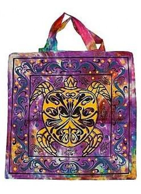 Turtle Cotton Tote Bag at Gothic Plus, Gothic Clothing, Jewelry, Goth Shoes & Boots & Home Decor