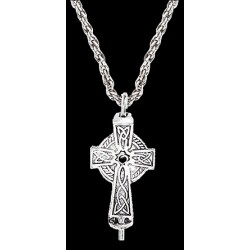 Celtic Cross Aromatherapy Diffuser Pendant Gothic Plus  Gothic Clothing, Jewelry, Goth Shoes, Boots & Home Decor