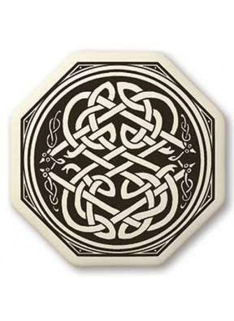 Celtic Serpent Porcelain Octagonal Necklace at Gothic Plus, Gothic Clothing, Jewelry, Goth Shoes & Boots & Home Decor