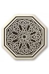 Celtic Spiritual Journey Porcelain Octagonal Necklace