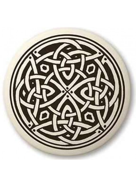 Celtic Spiritual Journey Porcelain Round Necklace at Gothic Plus, Gothic Clothing, Jewelry, Goth Shoes & Boots & Home Decor