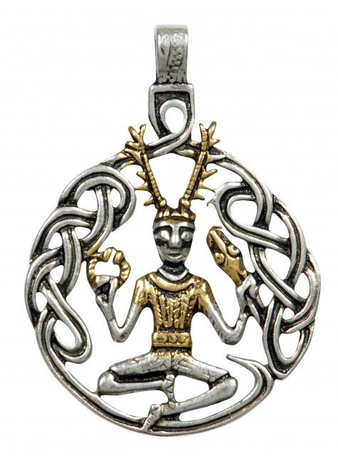 Cernunnos Necklace for Unity with Nature at Gothic Plus, Gothic Clothing, Jewelry, Goth Shoes & Boots & Home Decor