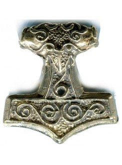 Raven Thors Hammer Pendant Gothic Plus Gothic Clothing, Jewelry, Goth Shoes & Boots & Home Decor