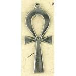 Ankh Plain Pewter Necklace