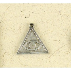 All Seeing Eye Talisman Necklace Gothic Plus Gothic Clothing, Jewelry, Goth Shoes & Boots & Home Decor