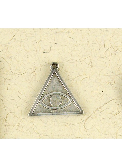 All Seeing Eye Talisman Necklace at Gothic Plus, Gothic Clothing, Jewelry, Goth Shoes & Boots & Home Decor