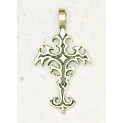 Gothic Cross Bronze Necklace Gothic Plus Gothic Clothing, Jewelry, Goth Shoes & Boots & Home Decor