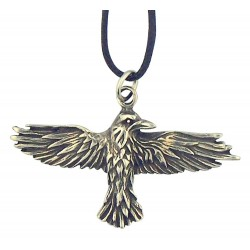 Celtic Raven Pewter Necklace Gothic Plus Gothic Clothing, Jewelry, Goth Shoes & Boots & Home Decor