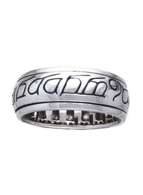 Elven Sterling Silver Fidget Spinner Ring at Gothic Plus, Gothic Clothing, Jewelry, Goth Shoes & Boots & Home Decor