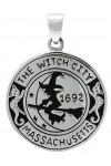 Salem Witch Commerative Sterling Silver Pendant