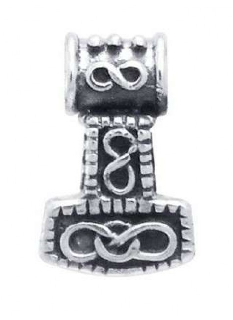 Small Thors Hammer Mjolnir Pendant at Gothic Plus, Gothic Clothing, Jewelry, Goth Shoes & Boots & Home Decor