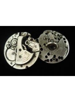 Steampunk Watch Gear Buttons - Set of 6 Gothic Plus Gothic Clothing, Jewelry, Goth Shoes & Boots & Home Decor