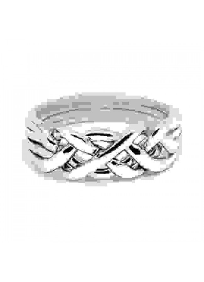 Girfr For Women 8.5 size Corset Ring Goth jewelry Gothic silver ring  Wide Band ring 8 size