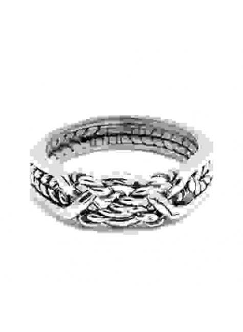 4 Band Twist Turkish Puzzle Ring at Gothic Plus, Gothic Clothing, Jewelry, Goth Shoes & Boots & Home Decor