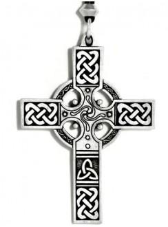 Celtic Cross Necklace - Large