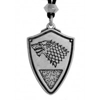 Dire Wolf: Winter is Coming Pewter Necklace