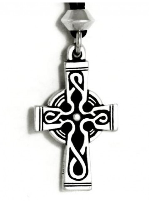 Celtic Cross Pewter Necklace at Gothic Plus, Gothic Clothing, Jewelry, Goth Shoes & Boots & Home Decor