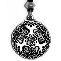 Yggdrasill Viking World Tree Necklace