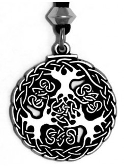 Yggdrasil Viking World Tree Necklace Gothic Plus Gothic Clothing, Jewelry, Goth Shoes & Boots & Home Decor
