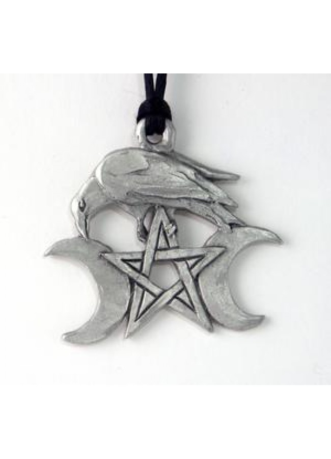 pendants pagan gb and pendant triple moon triquetra sided double necklaces albina necklace
