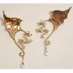 Winged Dragon Bronze Ear Wrap