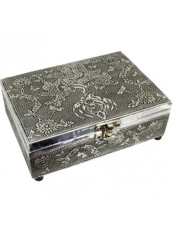 Tree of Life Embossed Metal Box Gothic Plus Gothic Clothing, Jewelry, Goth Shoes & Boots & Home Decor
