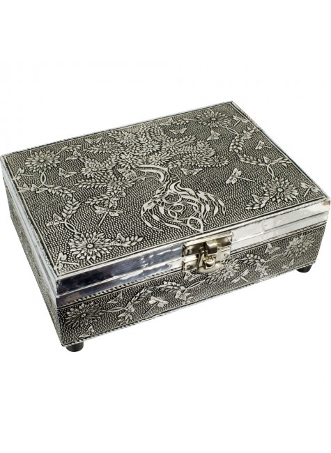 Tree of Life Embossed Metal Box at Gothic Plus, Gothic Clothing, Jewelry, Goth Shoes & Boots & Home Decor