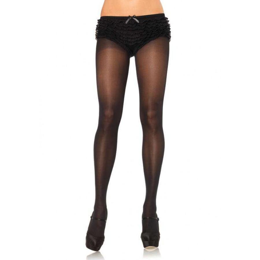 Sister puts sheer to waist pantyhose no cotton panel the